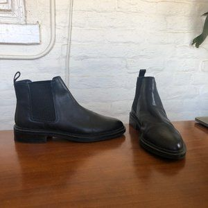 TOPSHOP Ankle Leather Chelsea Boots